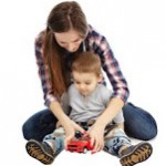 bigstock-Playing-With-Toy-Car-57500954